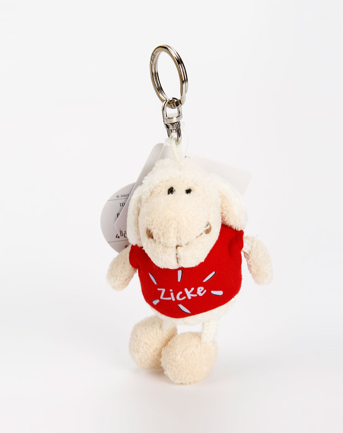 nici 中性红/米色可爱小羊钥匙扣1
