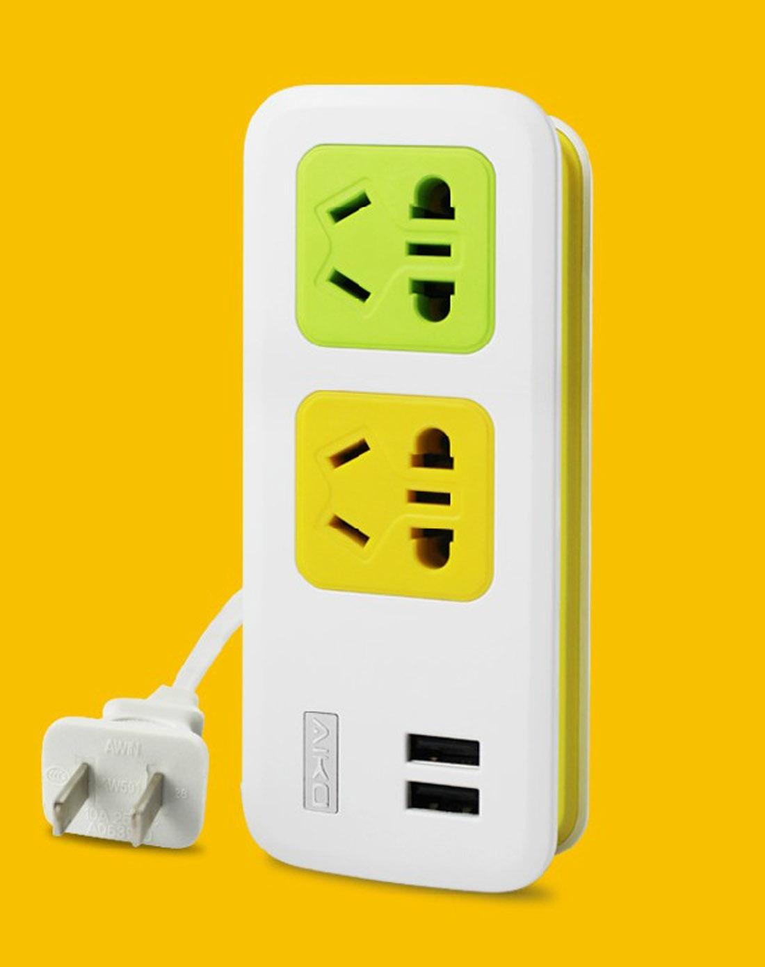 趣玩创意多功能智能usb插排充电器10287