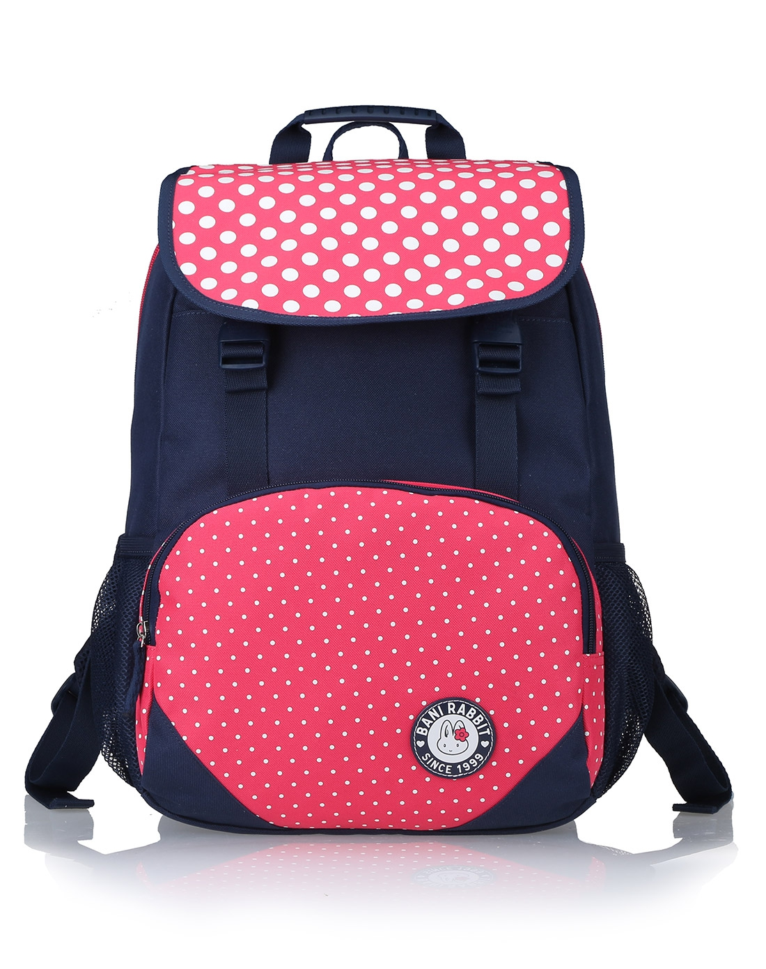 女款蓝色清新中学小学生可爱背包