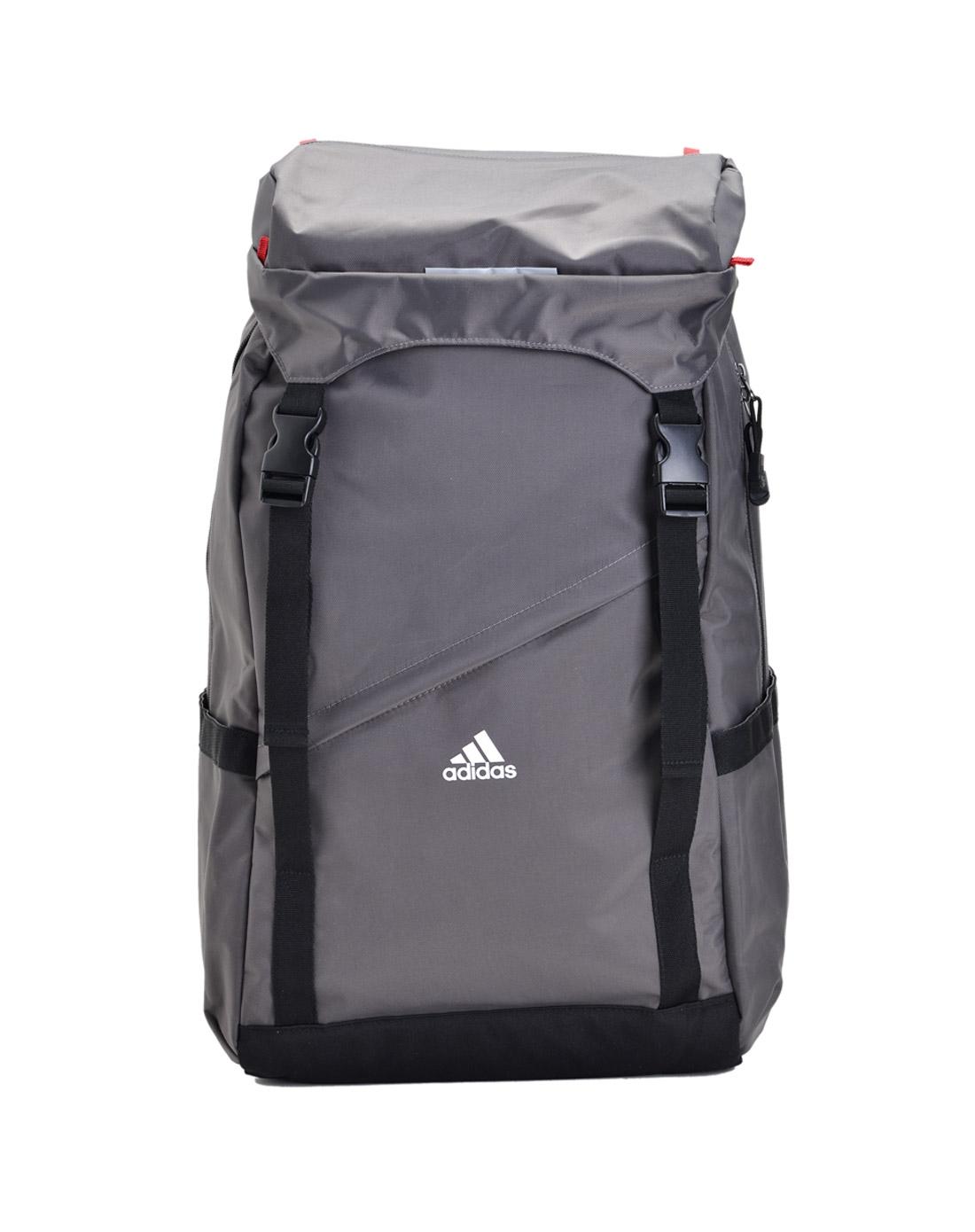 阿迪达斯adidas男鞋专场-男子灰色背包