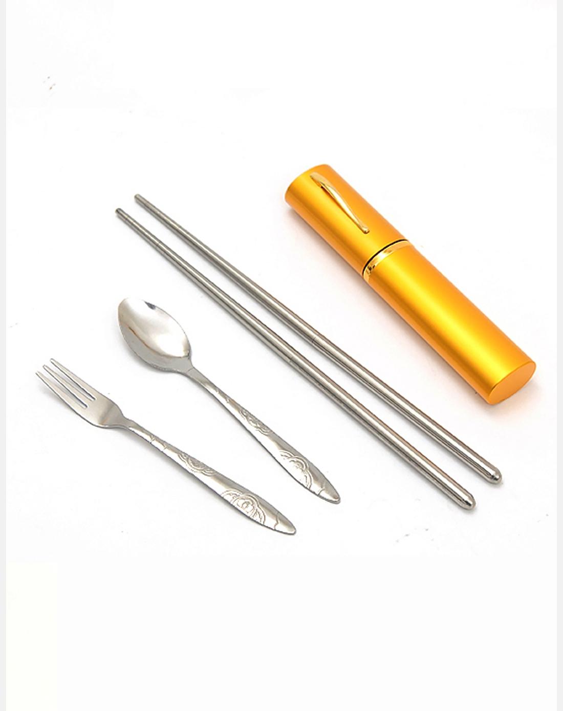 筷子勺子叉子组合餐具