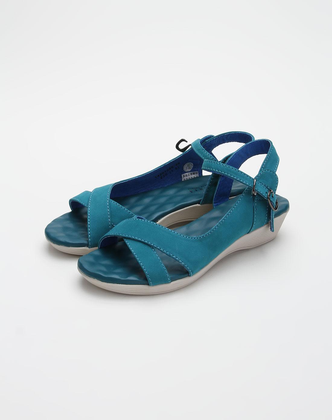 奥卡索forleria(法娜妮)浅墨绿色舒适凉鞋