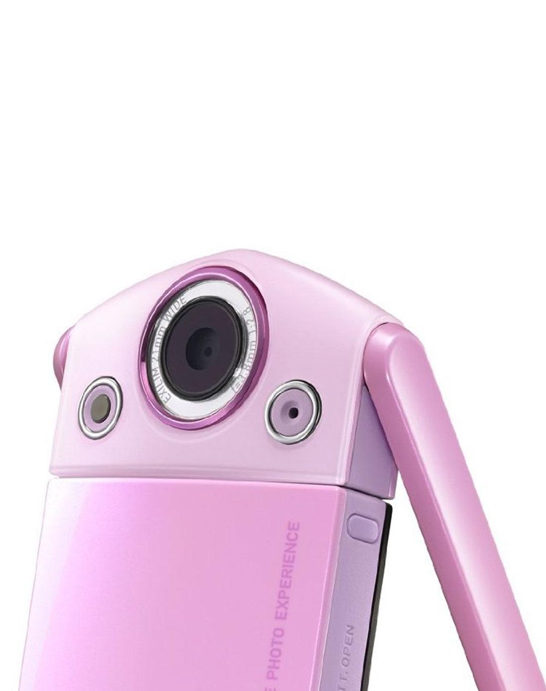 自拍神器tr350s 淺粉色單機版