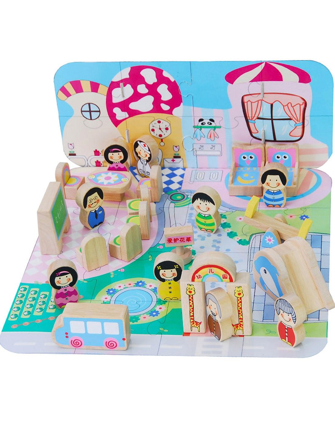 儿童益智玩具彩虹幼儿园