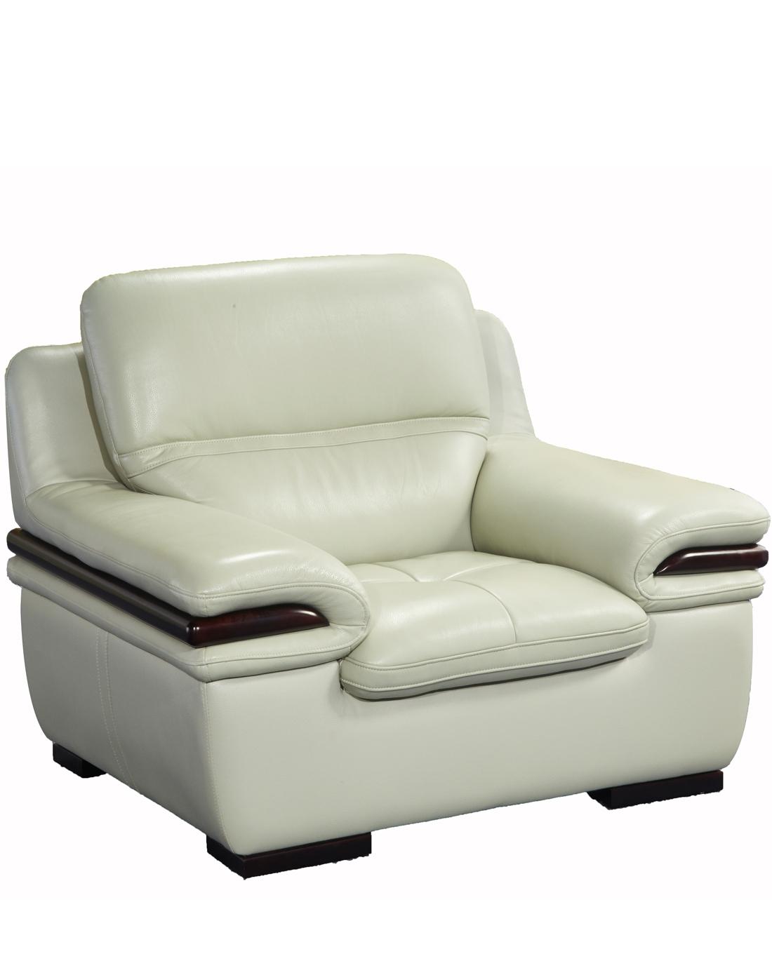 康耐登 欧式现代简约真皮沙发(左扶三人位 右贵妃位 双扶手单人位)