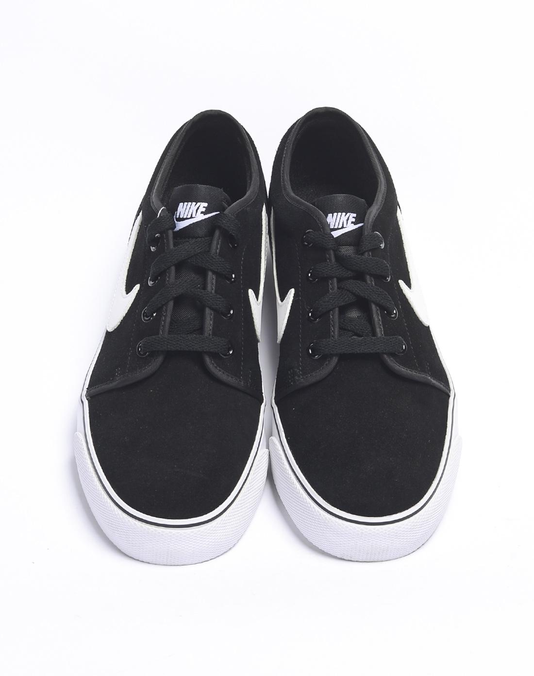 ike男子黑色复古鞋555270 001