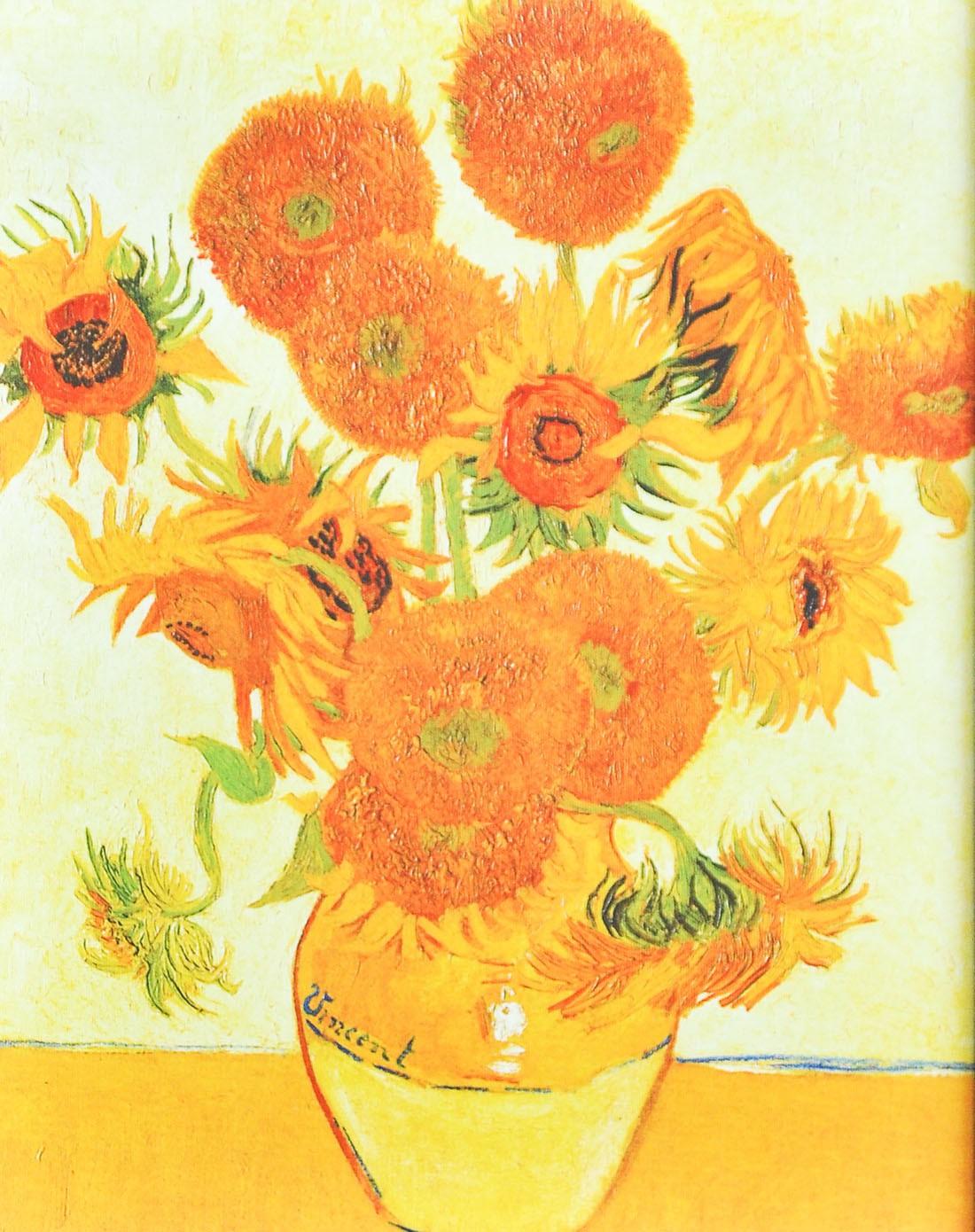 请问 梵高 向日葵 的历史价值是什么