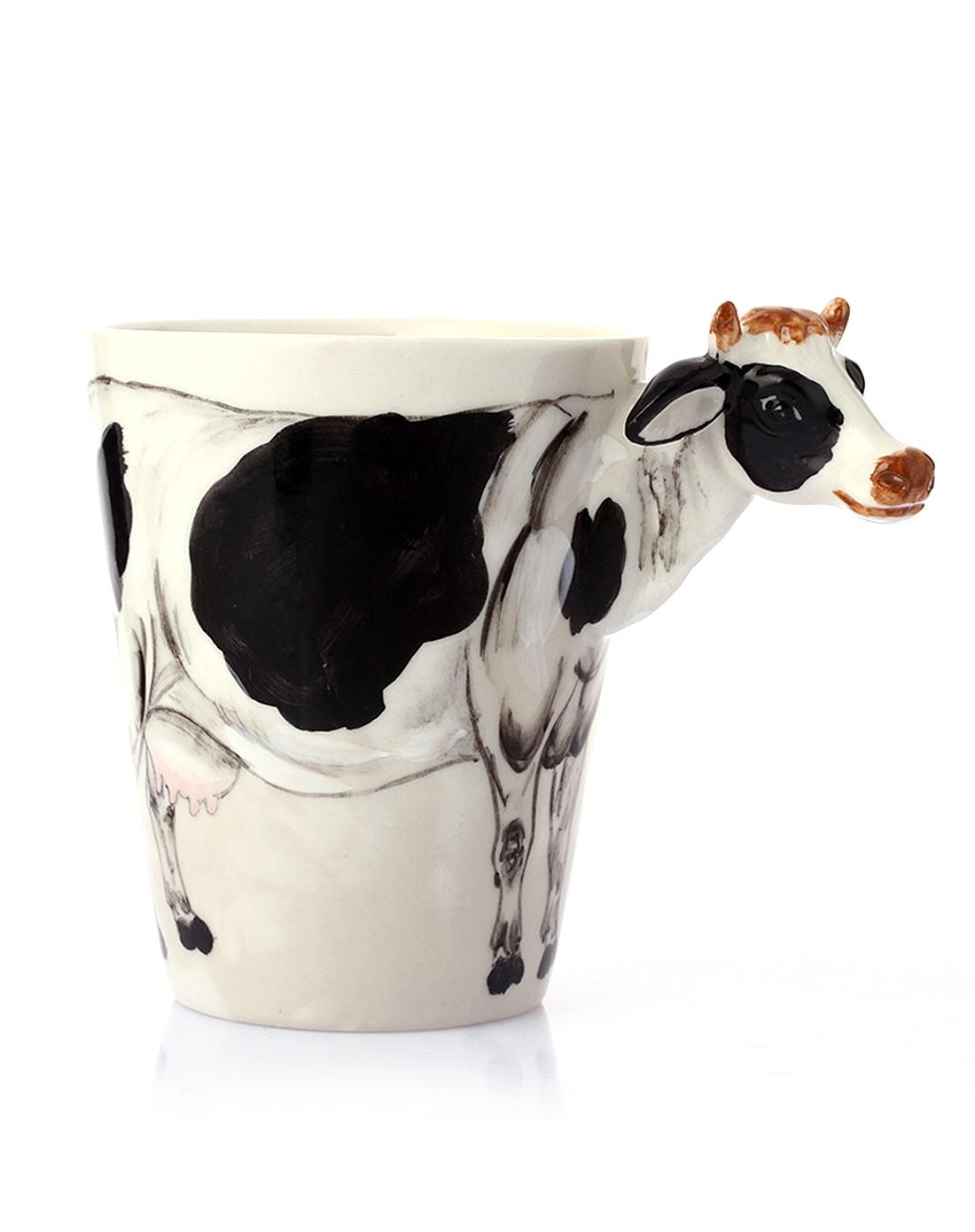 (奶牛)3d立体纯手绘动物杯