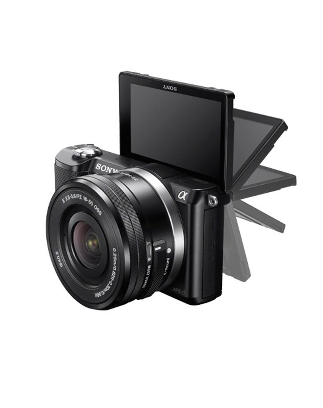 索尼sony数码全系列专场-微单相机a5000l黑