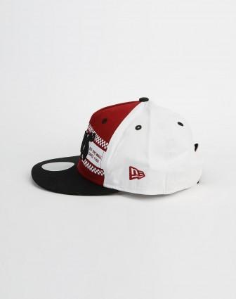 男款红/白色鸭舌帽