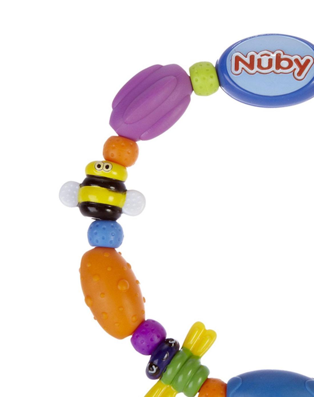 宝贝可爱nac nac&努比nuby婴童用品专场 > nuby 可爱昆虫环固齿器