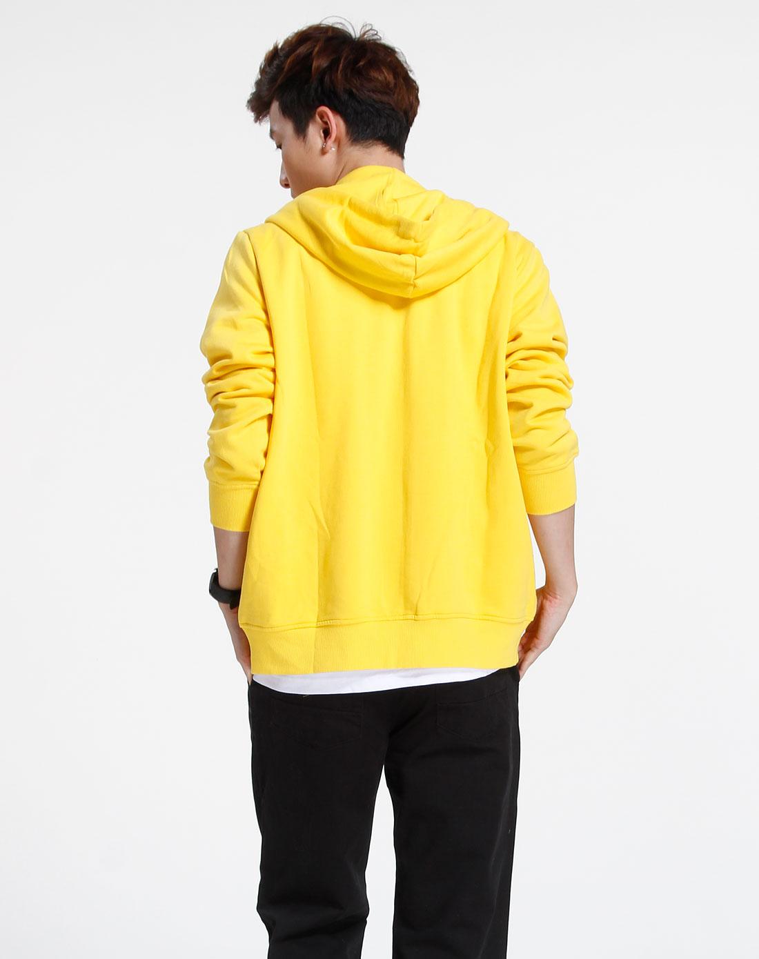 森马-男装黄色长袖时尚外套093141031-360图片