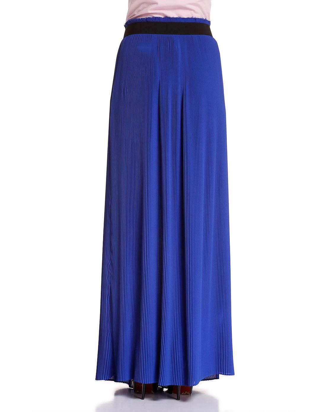department5女款高雅时尚半身长裙蓝色
