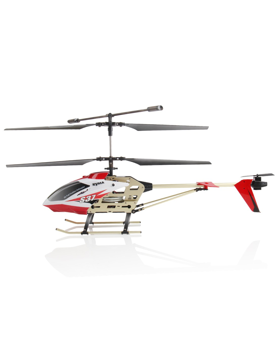 航模 合金可充电超大耐摔遥控飞机直升机
