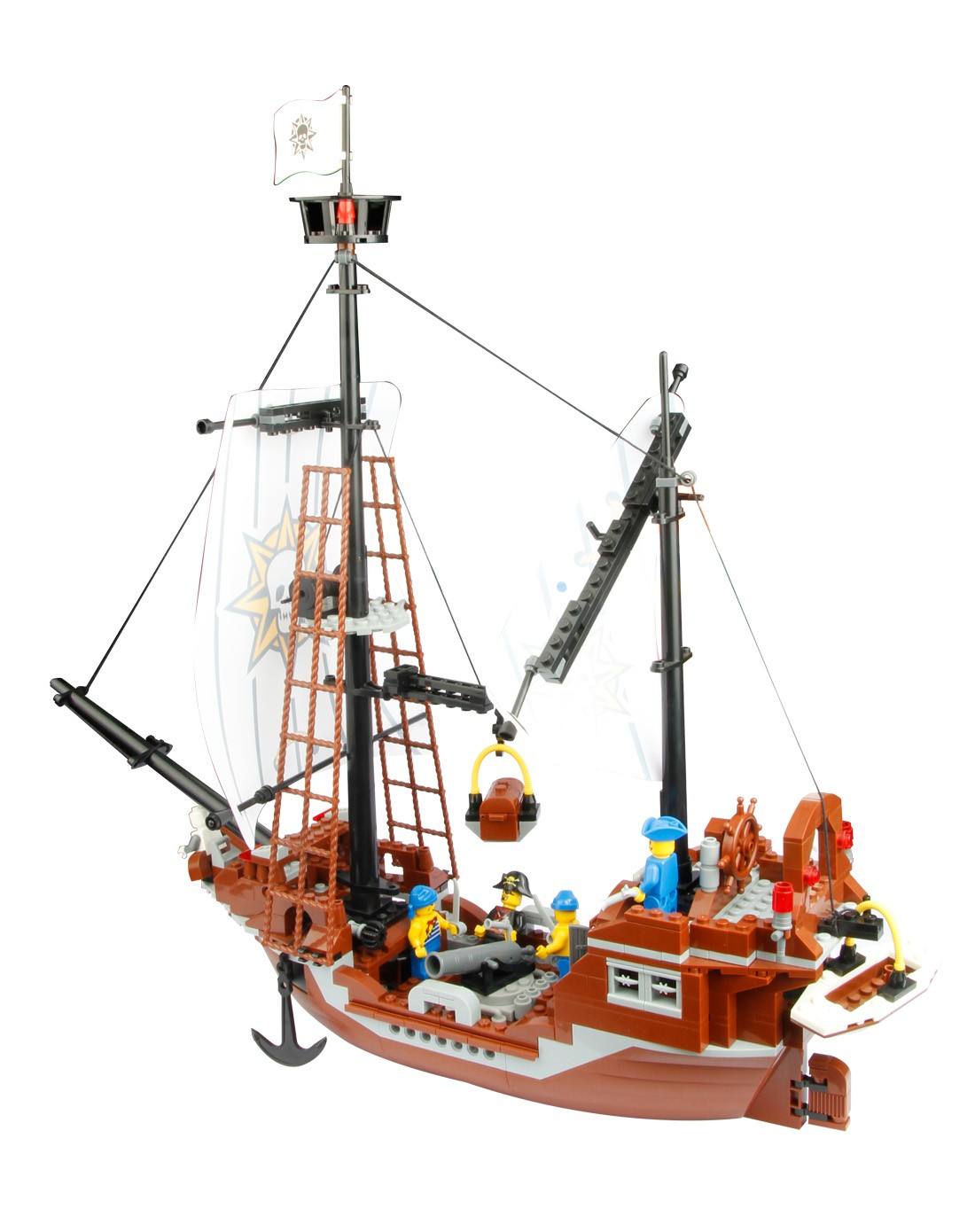 乐高船形玩具