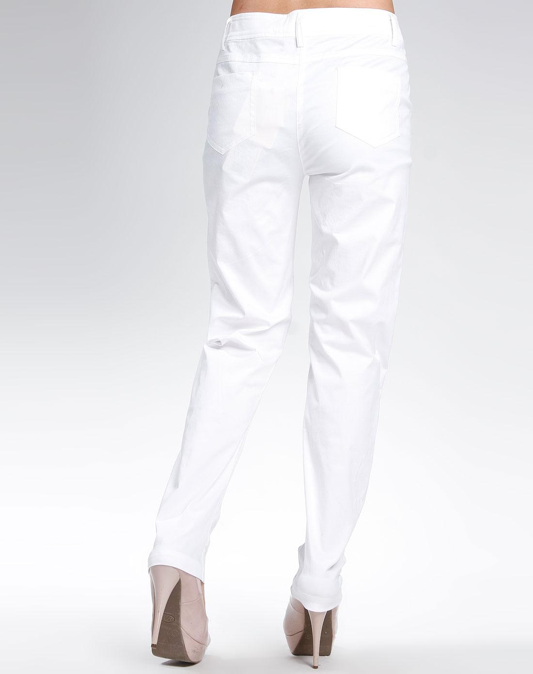 女款本白裤子