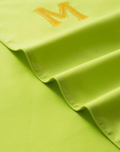 纯色绿色背景ppt素材