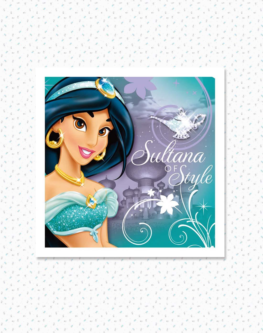 迪士尼disney儿童家具专场挂画-茉莉公主欢乐时光
