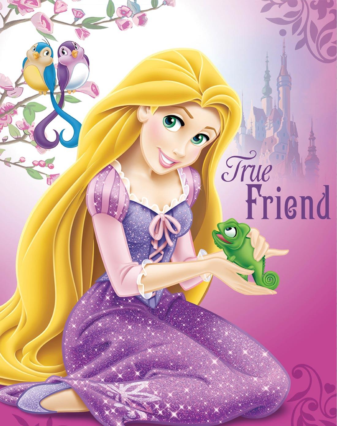 迪士尼disney儿童家具专场 > 挂画-长发公主之动物情缘