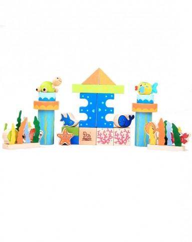 儿童益智玩具海洋积木