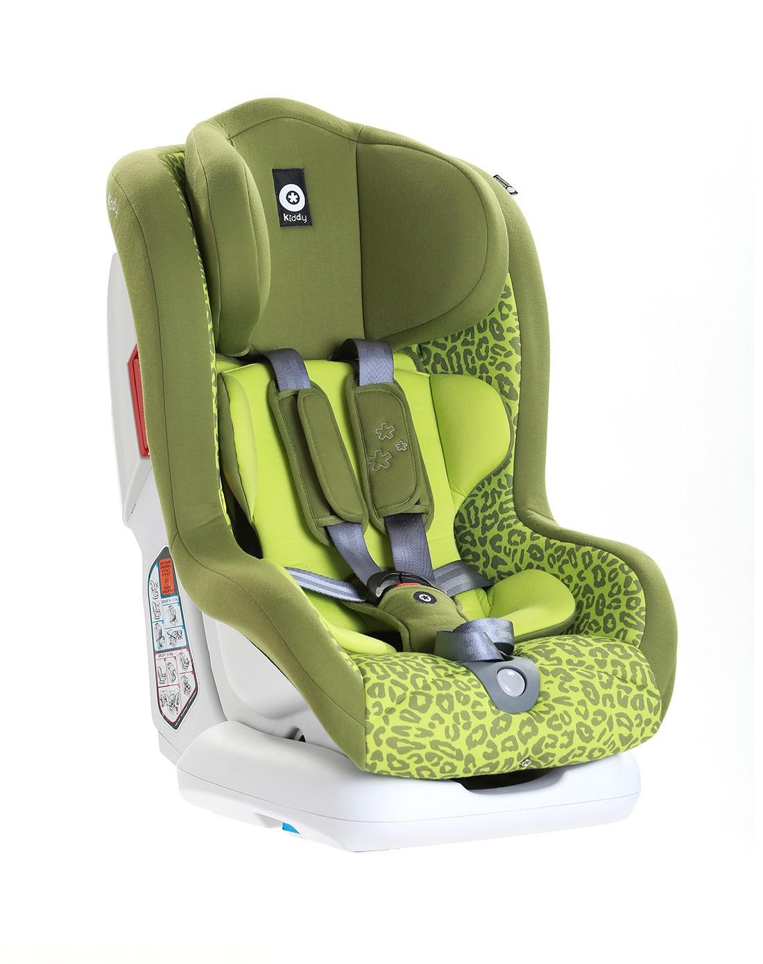 kiddy奇蒂 先锋者儿童安全座椅-嫩草绿(0-4岁)