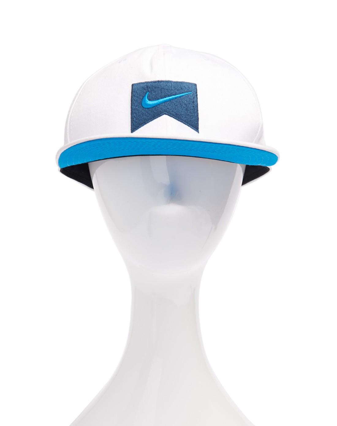 中性白色极限运动帽子