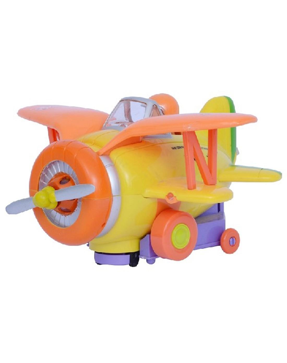 奇妙飞机卡通音乐小飞机儿童玩具飞机