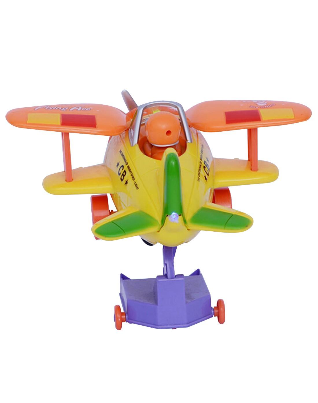 优代 奇妙飞机卡通音乐小飞机儿童玩具飞机