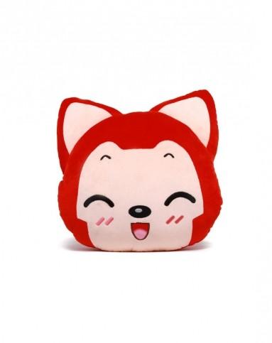 阿狸 阿狸表情暖手抱枕-桃子(微笑)图片