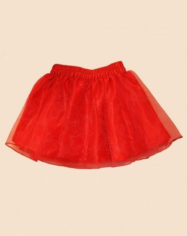 红色纱裙怎么搭配