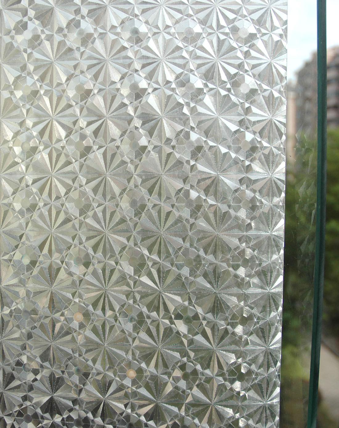 3d花纹静电玻璃窗花贴 2m/卷