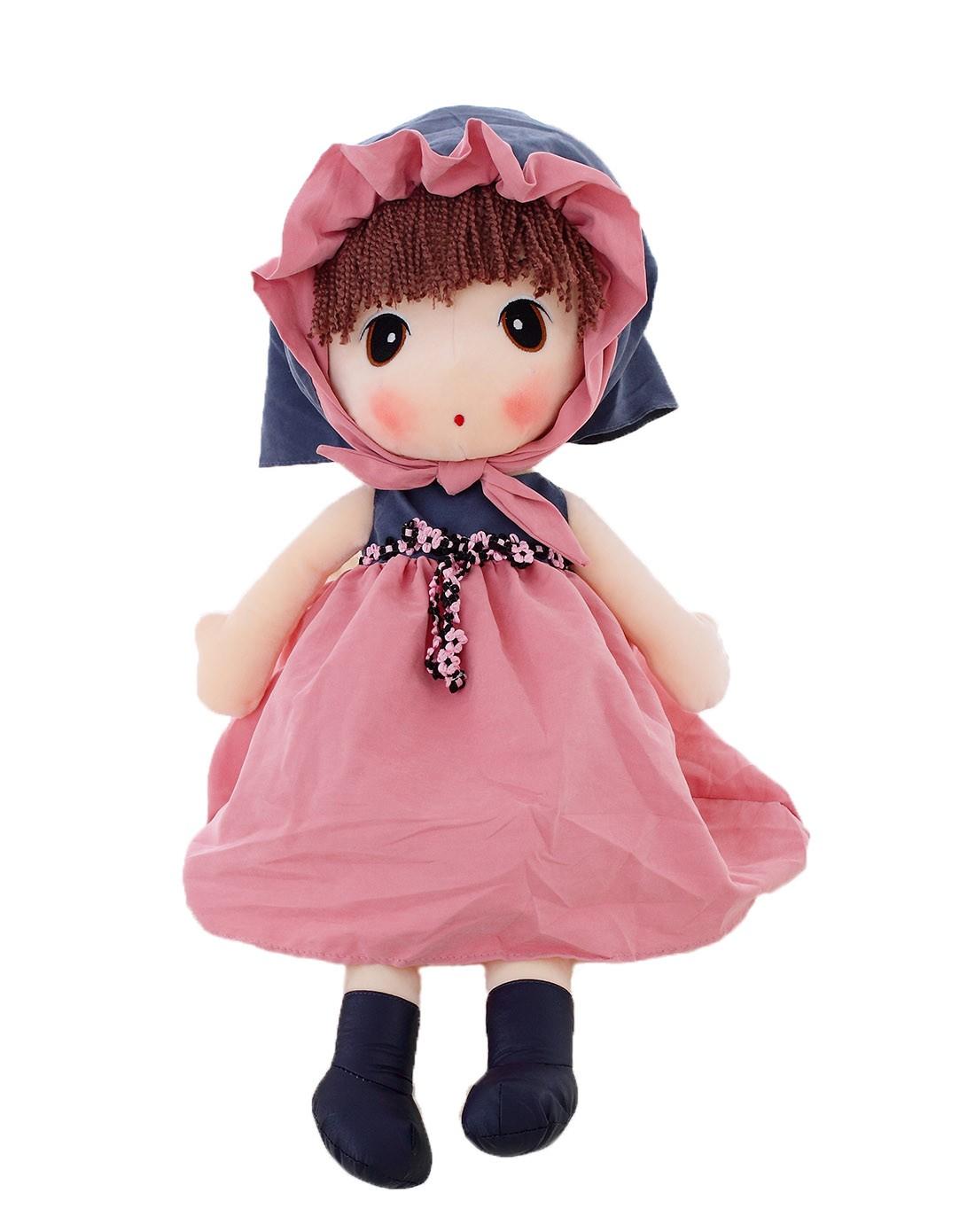 动漫卡通毛绒玩具专场(新款)可爱童话版洋娃娃-粉红