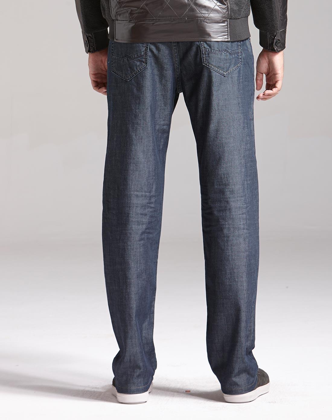 niao男士深蓝牛仔裤1021201220