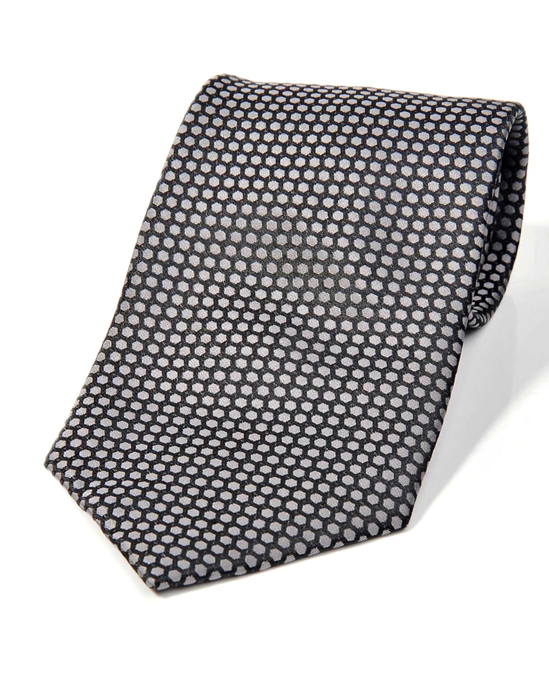 黑/灰色帅气时尚领带