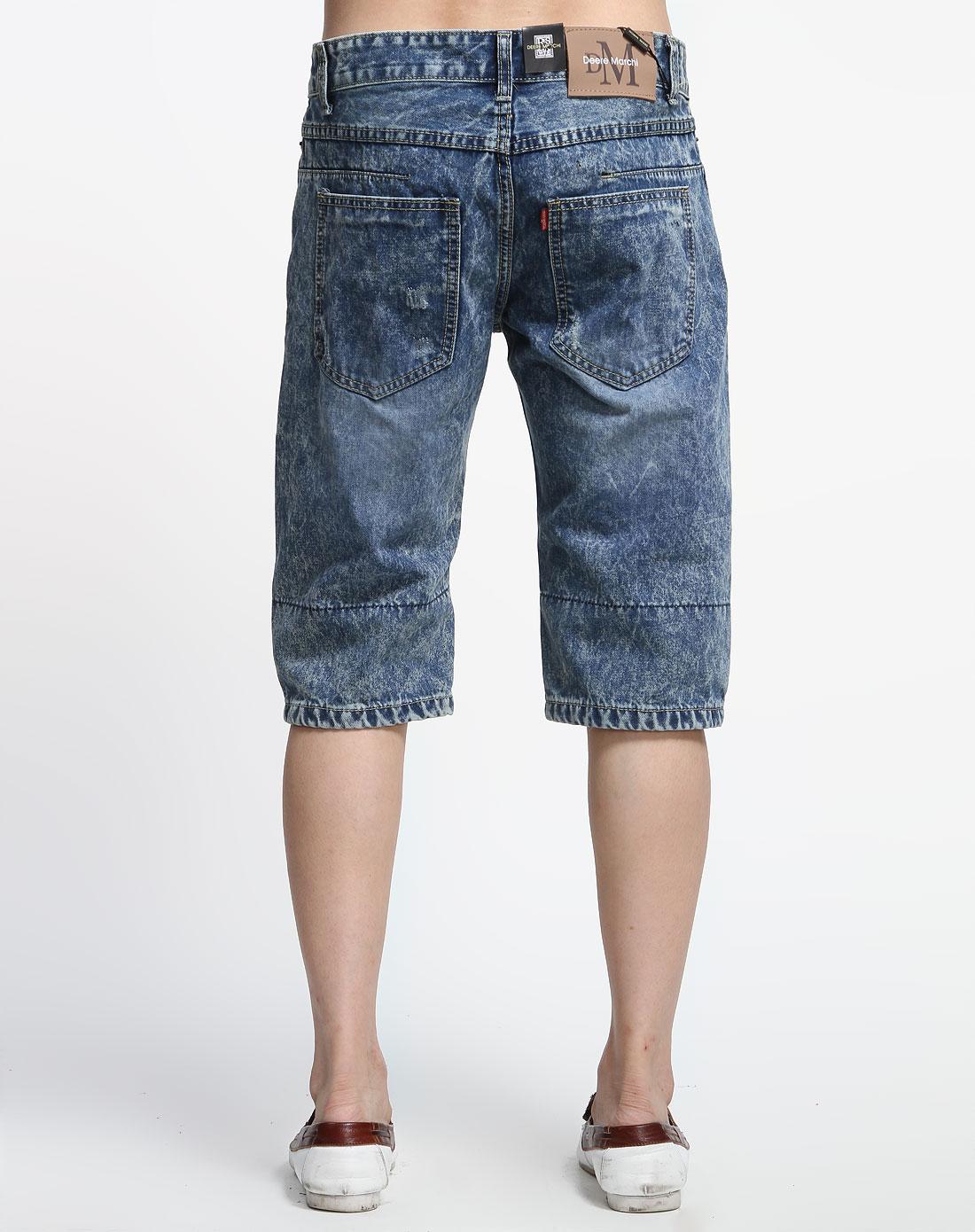 性牛仔中裤dm6003