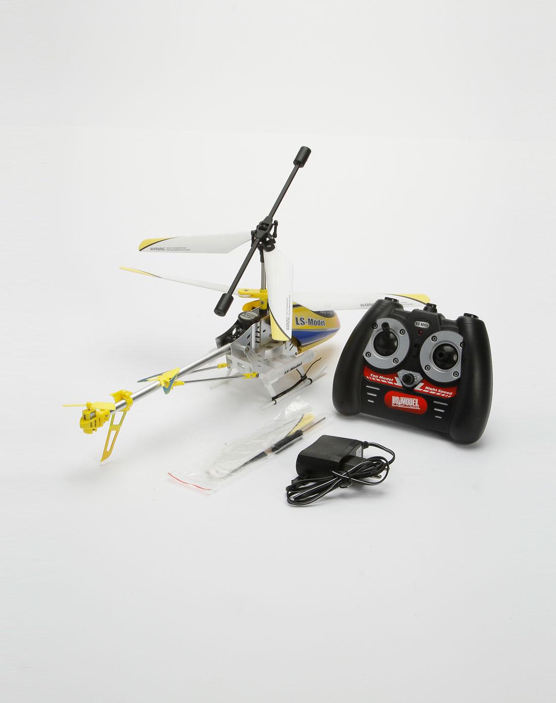 遥控玩具专场-黄/白/黑色遥控直升飞机