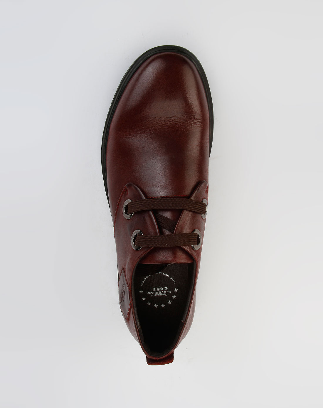 枣红休闲皮鞋lbw