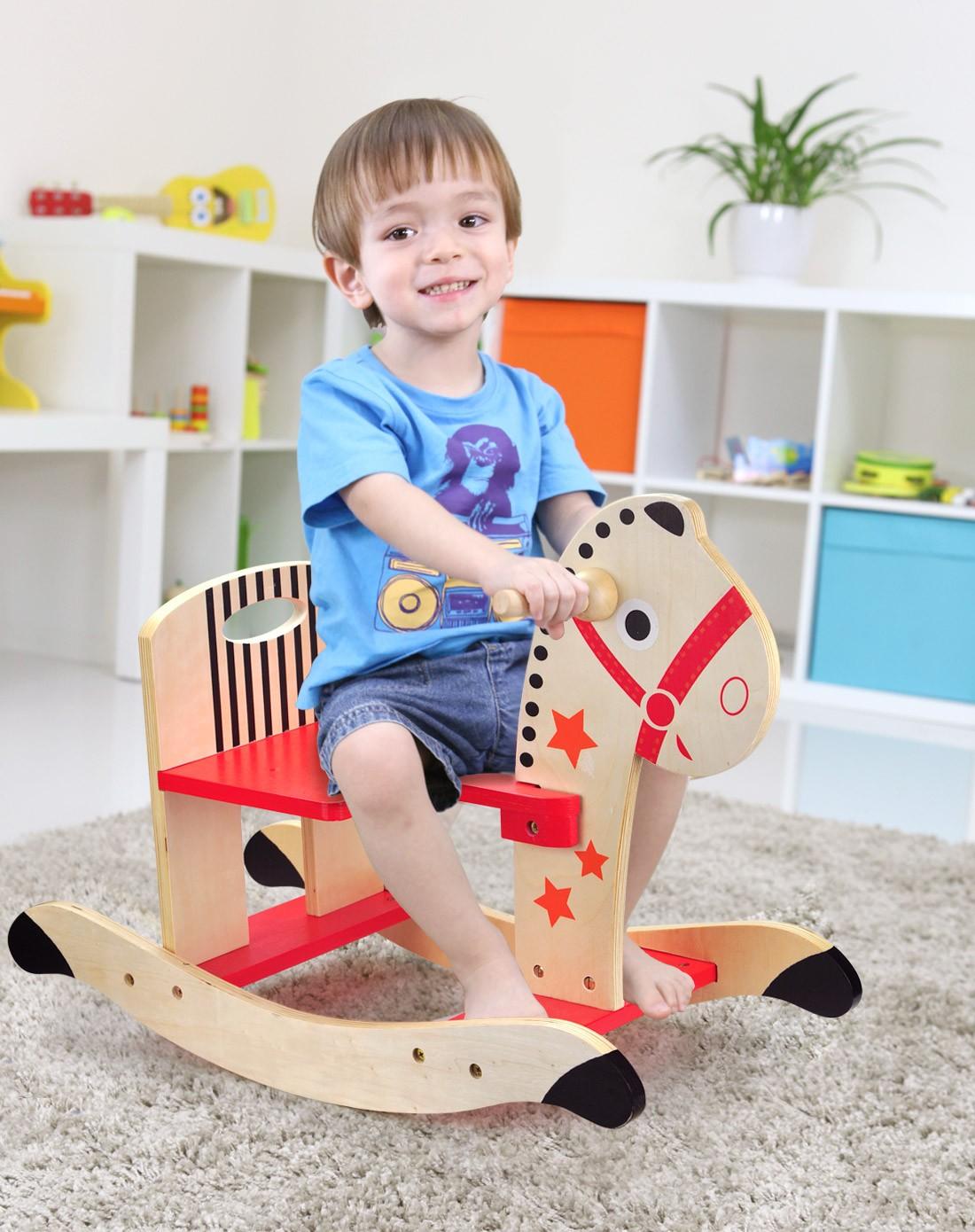 特宝儿等益智玩具特宝儿儿童木制五星安全设计俏皮马