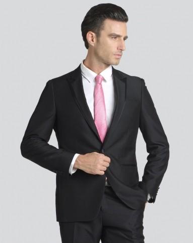 绅士黑色西装头像