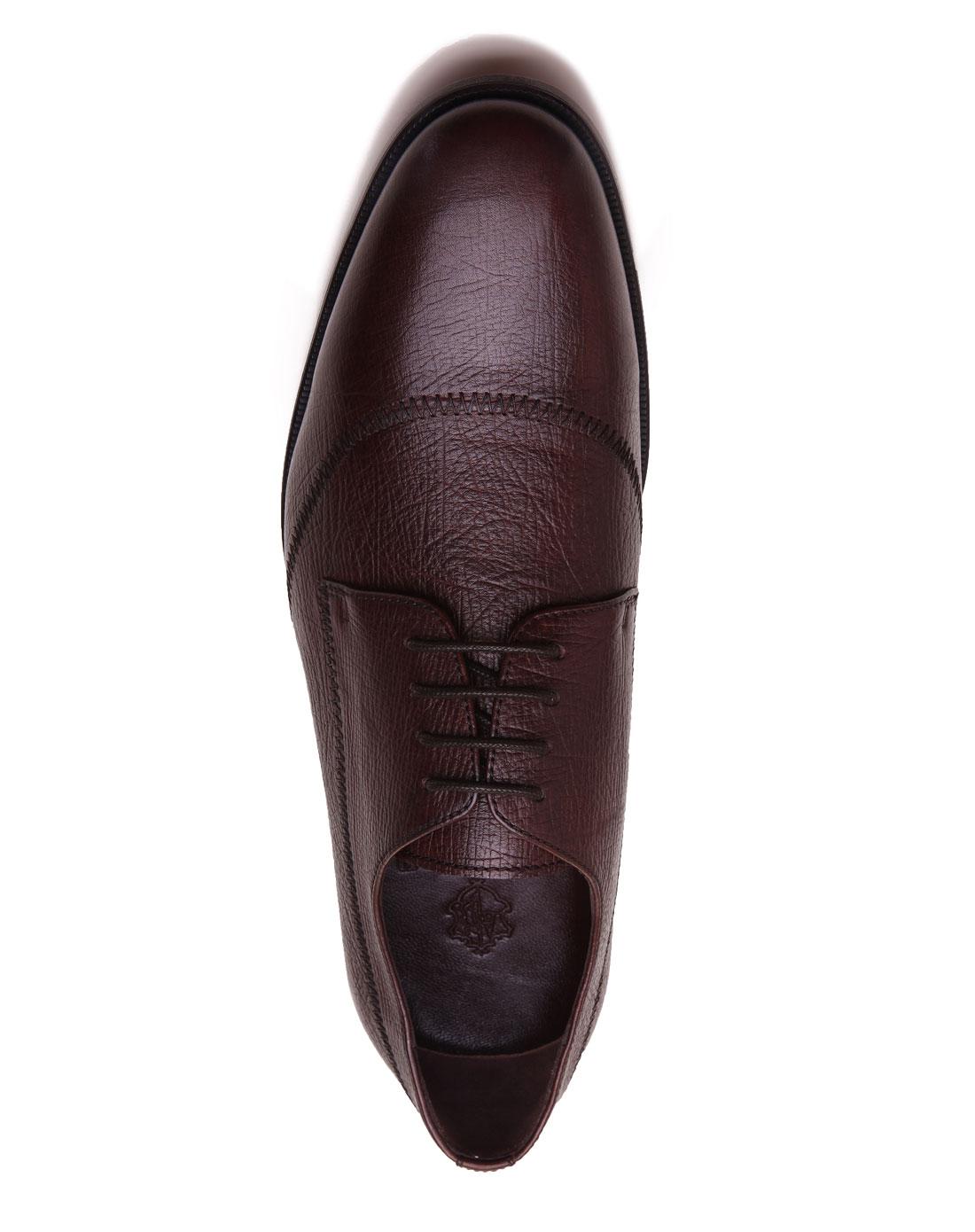 阿科登agcatton咖啡色经典正装款皮鞋11188006303
