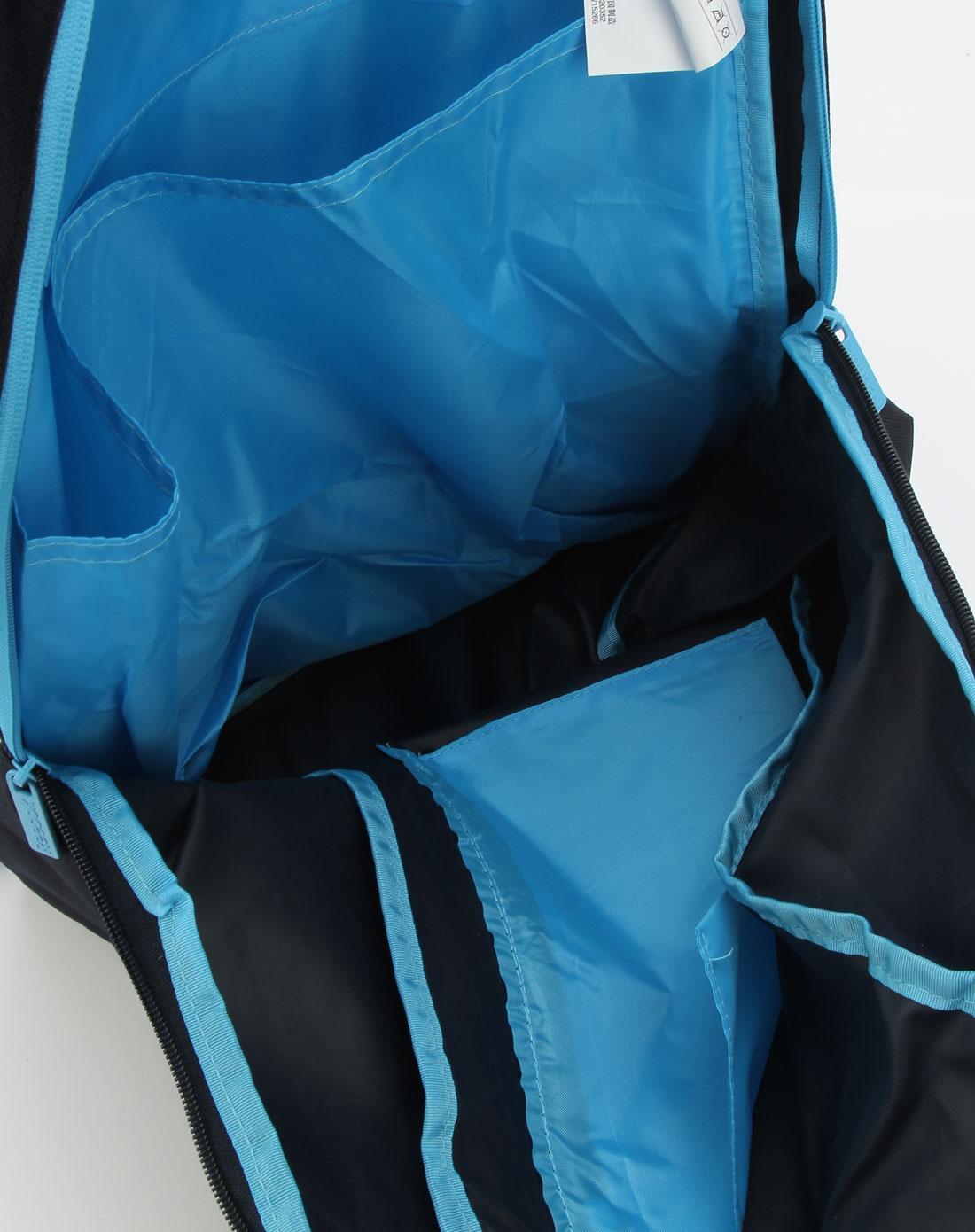 锐步reebok男女男性深蓝色时尚简约双肩背包w15266