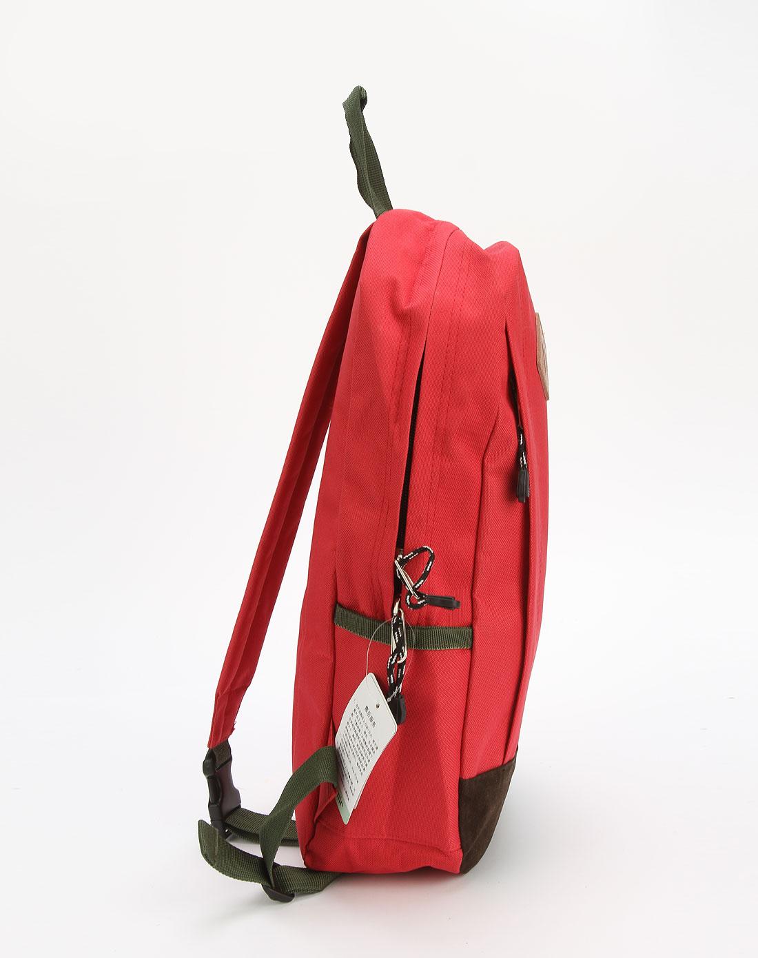 中国红色单肩斜背包图片