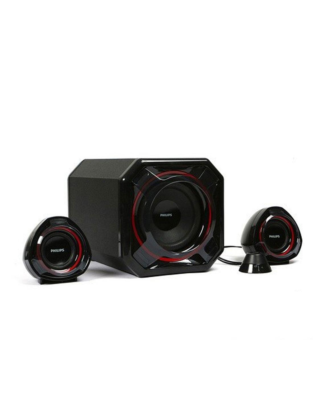音箱2.1 hifi低音炮 黑色 高清图片