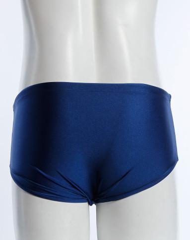 男款深蓝色三角泳裤