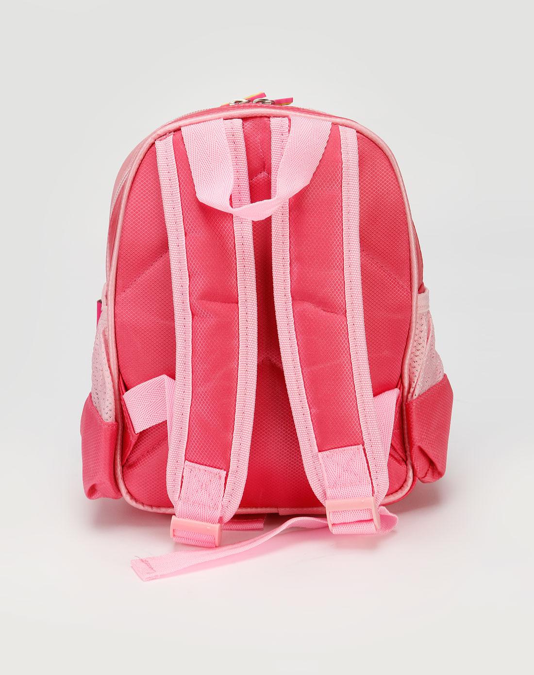 女童粉红色海绵宝宝幼儿园小背包
