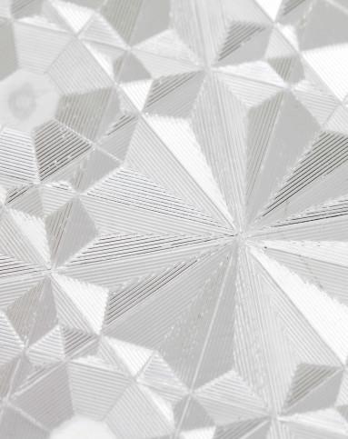 3d钻石花纹静电玻璃贴45cm*2m