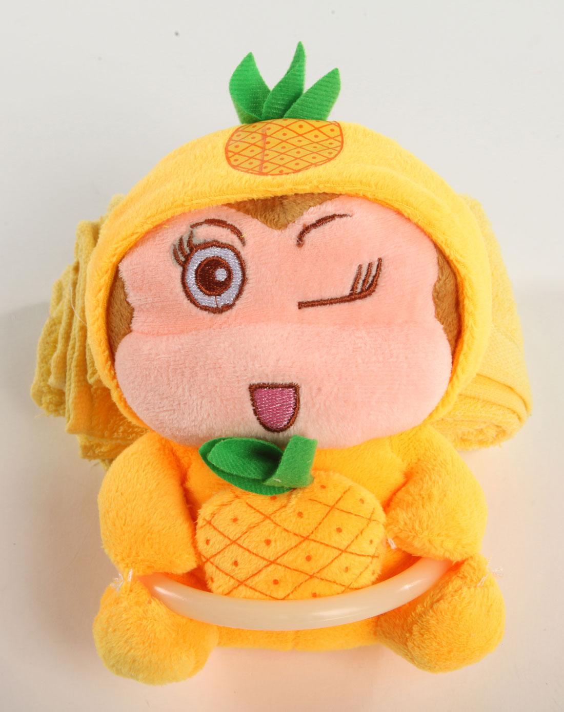 卡通宝贝系列动物造型毛巾挂架(附毛巾)水果猴