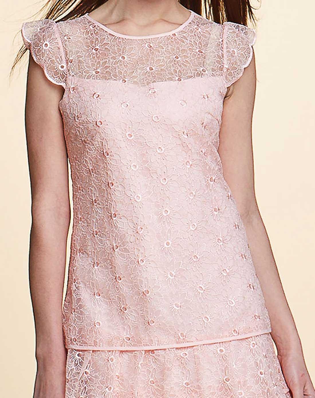 无袖跺(h��ފ9_无袖粉色连衣裙