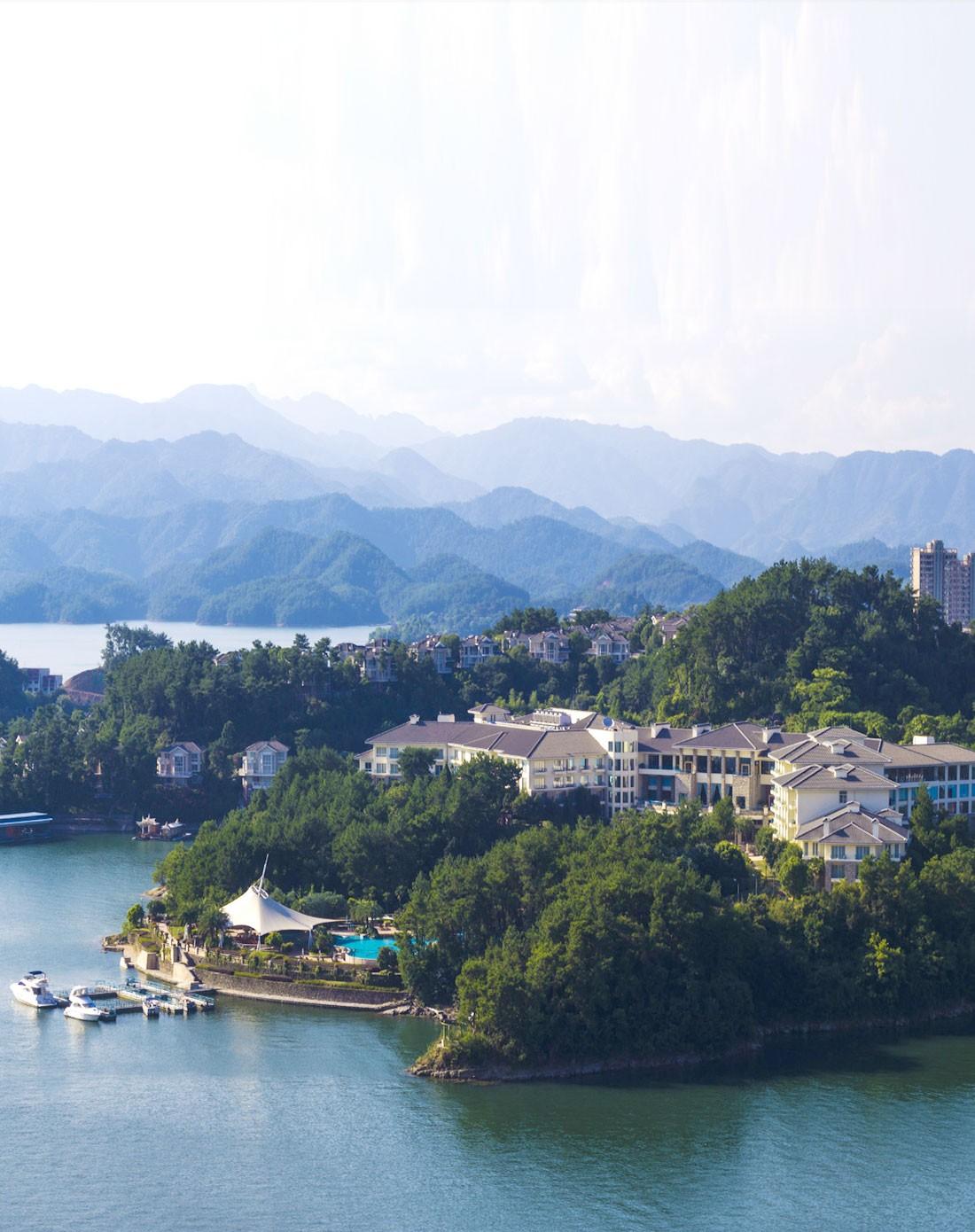2月7日杭州千岛湖开元度假村2天1晚自由行套餐-园景双床/大床房