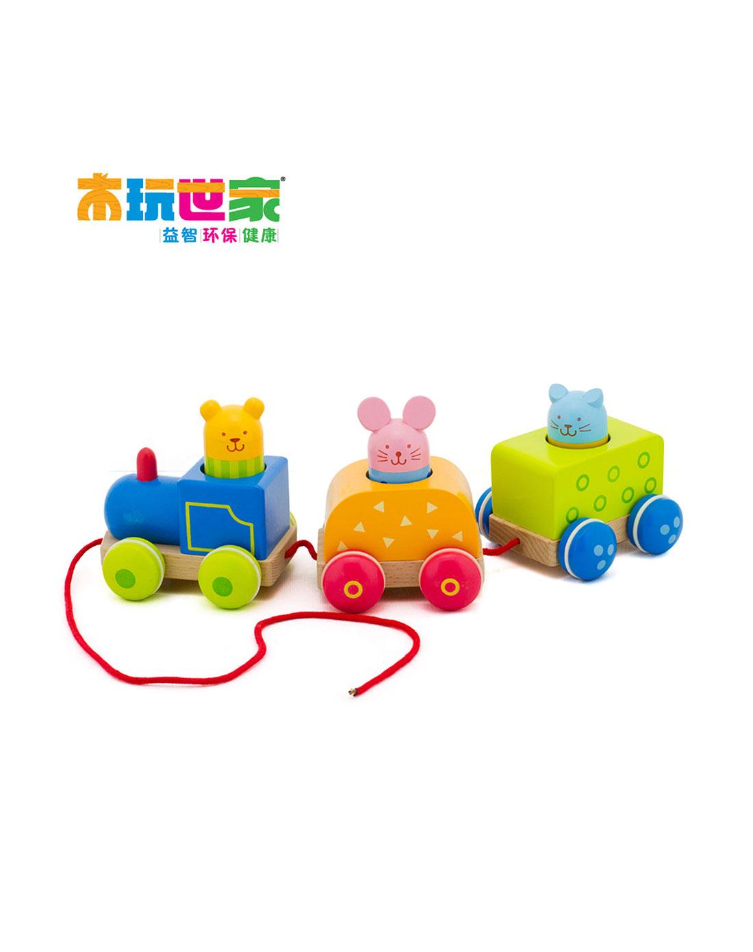拖拉动物火车
